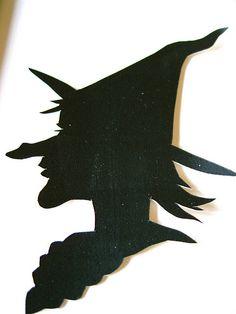 Elder Witch Silhouette, via Flickr.