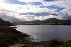 View across the loch at Dunvegan