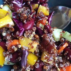 Cabbage & quinoa salad