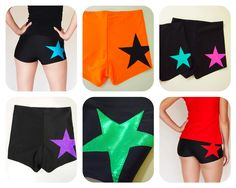 Star Roller Derby Shorts - Pre-Order AUD) by HellcatClothing Roller Derby Clothes, Roller Derby Girls, Derby Skates, Derby Dress, Pink Stars, Roller Skating, Gym Shorts Womens, Trending Outfits, My Style