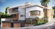 RESIDENCIA SINALOA: Casas de estilo Moderno por OLLIN ARQUTIECTURA