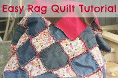 {How to} Rag Quilt   Chaos & Love