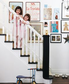 love the floors, staircase and gallery photos