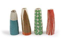 by Andrew Ludick Glass Ceramic, Ceramic Clay, Ceramic Painting, Ceramic Artists, Ceramic Pottery, Ceramic Studio, Vase Design, Clay Design, Clay Owl
