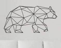 Znalezione obrazy dla zapytania geometric bear
