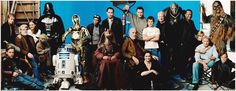 """The Entire Cast of """"Star Wars"""" (minus Alec Guinness who died in -- by Annie Leibovitz For Vanity Fair, 2005 Star Wars Episoden, Star Wars Cast, Annie Leibovitz, Sith, Vanity Fair, Billy Dee Williams, Ultimate Star Wars, Avengers, Alec Guinness"""