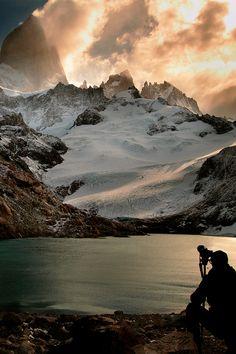 Facing the immensity of nature  #Climbing #Splendor