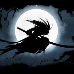 Moonlight Samurai for samurai deeper kyo : Available as Cards, Prints, Posters, T-Shirts & Hoodies, Kids Clothes, Stickers, iPhone & iPod Cases, and iPad Cases