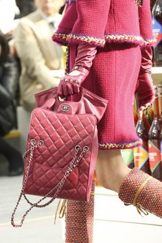 Chanel - with the gloves... BOOM!