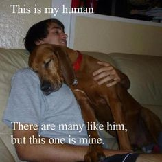 This is my human :)
