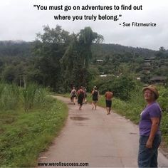 An adventure will always open up different sides of you that you didn't know you had. Always take the adventure you never know where it will lead you and what it will bring out in you. You Never Know, Try Something New, Open Up, You Must, Women Empowerment, Knowing You, How To Find Out, Country Roads, Positivity