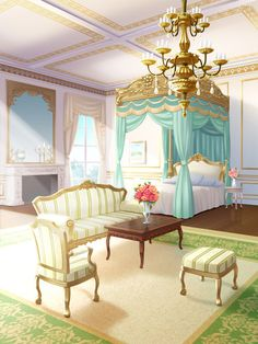 Anime Dining Room : anime, dining, Anime, Background, Ideas, Background,, Places,, Scenery