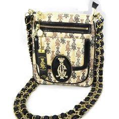 """Bag """"Ed Hardy"""" golden beige black. $225.0"""