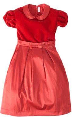Il Gufo Classic Puff Sleeve Dress