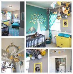 27 Best Teal yellow and grey bedroom ideas images in 2014 | Home ...