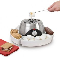 Indoor Flameless Marshmallow Roaster. I want one!