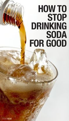 Tips to stop drinking pop