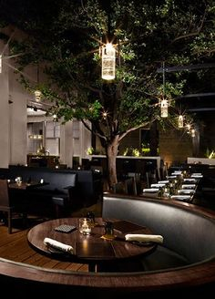 Bourbon Steak | AvroKo | A Design and Concept Firm WEIRD theyre the same...