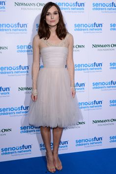 Keira Knightley at the SeriousFun London Gala 2013 at The Roundhouse, 3 December 2013