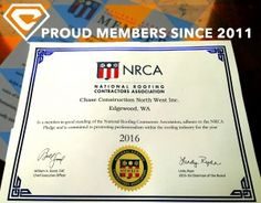 We are proud to be working with the NRCA!