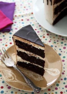 Mocha Spice and Brown Butter Layer Cake