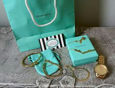 Coquette accesorios and Tiffany & Co. Style accessories