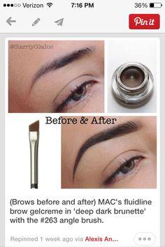 MAC eyebrow gel ~ pinterest: @xpiink ♚
