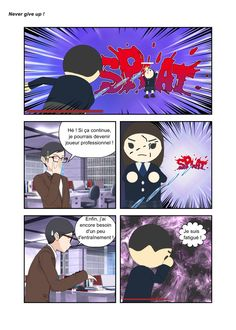 Autre réapparition d'un personnage. #ComiPo #bd #strip Manga Maker, Strip, Never Give Up, Comic, Other, Persona