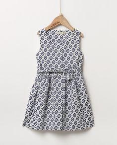 Vestido de niña Sfera con estampado
