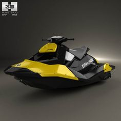 BRP Sea-Doo Spark 2013 3d model from humster3d.com. Price: $75