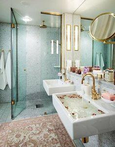 Super girly bathroom