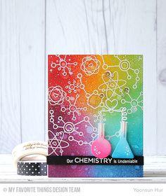 Undeniable Chemistry, Chemistry Set Die-namics - Yoonsun Hur #mftstamps