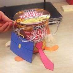 Big Cup Noodles is ready to go to the #office. Make the perfect #cubiclelunch today!