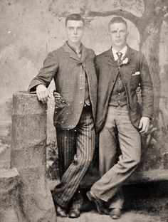 Handsome turn-of-the-century couple