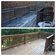 Flood Chestnut Brown Solid Wood Stain Beautifies This Deck Backyard Beauty