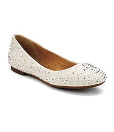 @Sarah Elrite - I don't know if these are the color but I'm playing on Dillards new arrivals right now and found these - Sperry TopSider Womens Emma Flats #Dillards