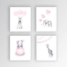 animal watercolor for nursery - Google Search