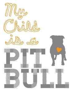 My Pit Bull, Sadie, IS my baby!!! She was abandoned on my porch in a box when…