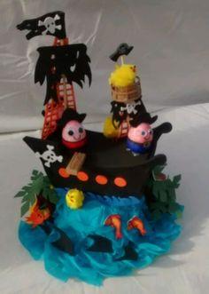 ** Eggscape from pirate Island ** Handmade Easter Bonnet Hat boys/girls in Home, Furniture & DIY, Celebrations & Occasions, Other Celebrations & Occasions   eBay