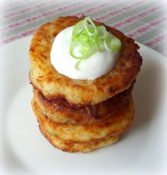 Cheese and Mashed Potato Fritters