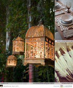 Birdcage Wedding Decor..