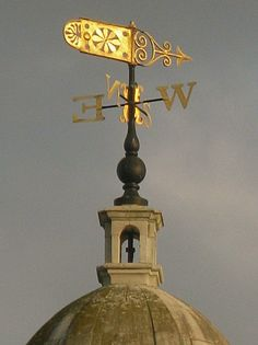 Weather Vane, Marylebone Parish Church by Thorskegga.