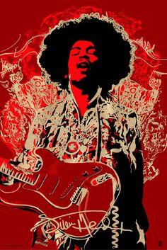 Jimi Hendrix - Naja Conrad-Hansen - 2015 ----