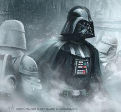 "Darth Vader (from ""30 new amazing Star Wars illustrations) | Via: FromUpNorth (#starwars #darthvader)"