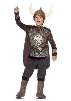 Big Boys' Viking Costume Small (4-6) >>> More info could be found at the image url. (This is an affiliate link) #CostumesforKids