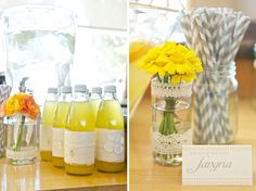A Dreamy Yellow & Orange Baby Shower » Blaine Photography Blog