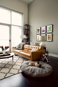 Tan Leather Sofa Round Up Window Leather sectionals and Tan