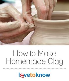 Learning how to make homemade clay can be a great way for you to create many different projects for your home or to give as gifts to family and friends. Homemade clay is frugal, easy to make, and not all at all difficult to work with. | How to Make Homemade Clay from #LoveToKnow