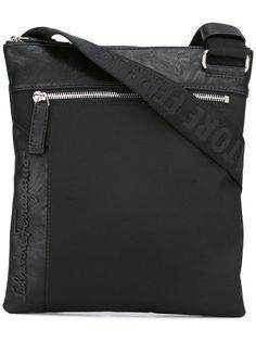 SALVATORE FERRAGAMO Zip Pocket Messenger Bag.  salvatoreferragamo  bags   shoulder bags  nylon   1f3f371da102a