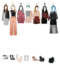 """(Melody) Fansign in Indonesia"" by k-p0p ❤ liked on Polyvore featuring Proenza Schouler, Precis Petite, J.Crew, Vetements, Markus Lupfer, Edun, Gucci, Reformation, Rebecca Minkoff and Topshop"